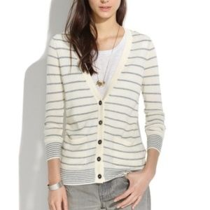 Madewell Button Front Cardigan Sweater Small